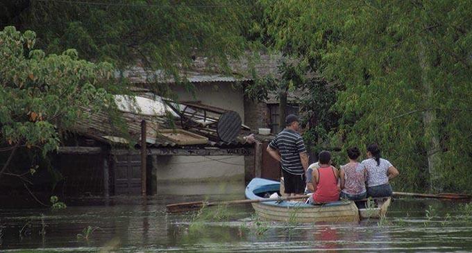 Inundaciones en Santa Fe: lo que se sumerge bajo el agua