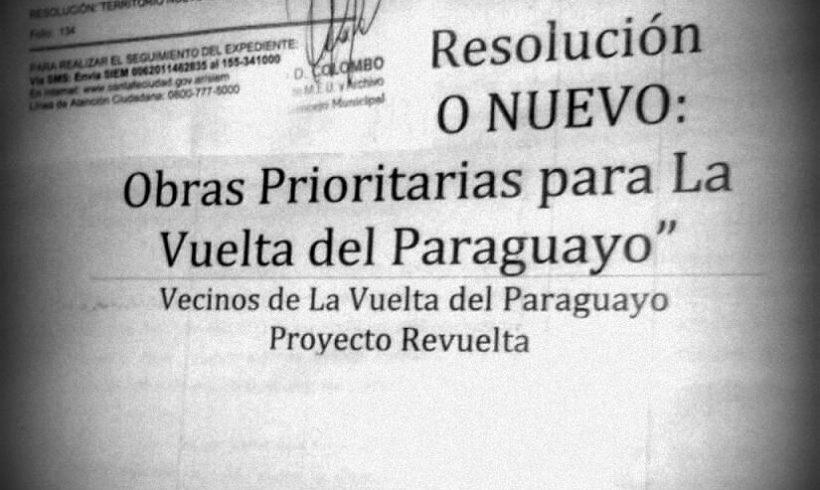 A un año de la aprobación del Proyecto de Obras Prioritarias