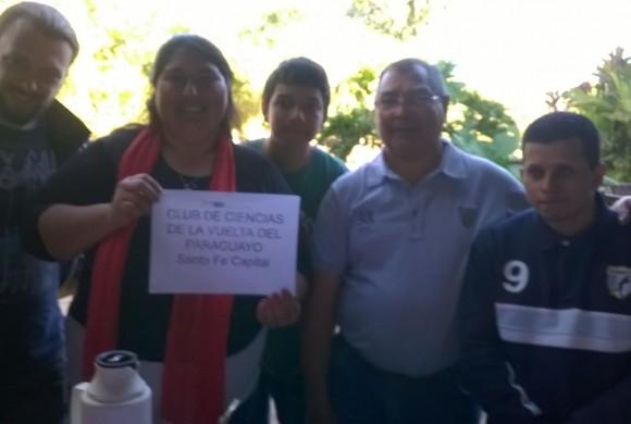 El Bachillerato Popular de La Vuelta del Paraguayo en el Encuentro de Clubes de Ciencias