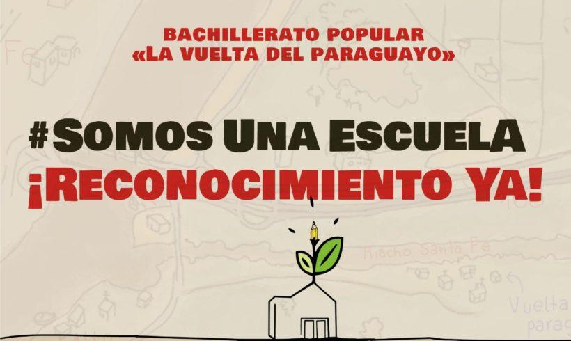 Comunicado de Prensa / Campaña de visibilización de nuestro Bachillerato Popular